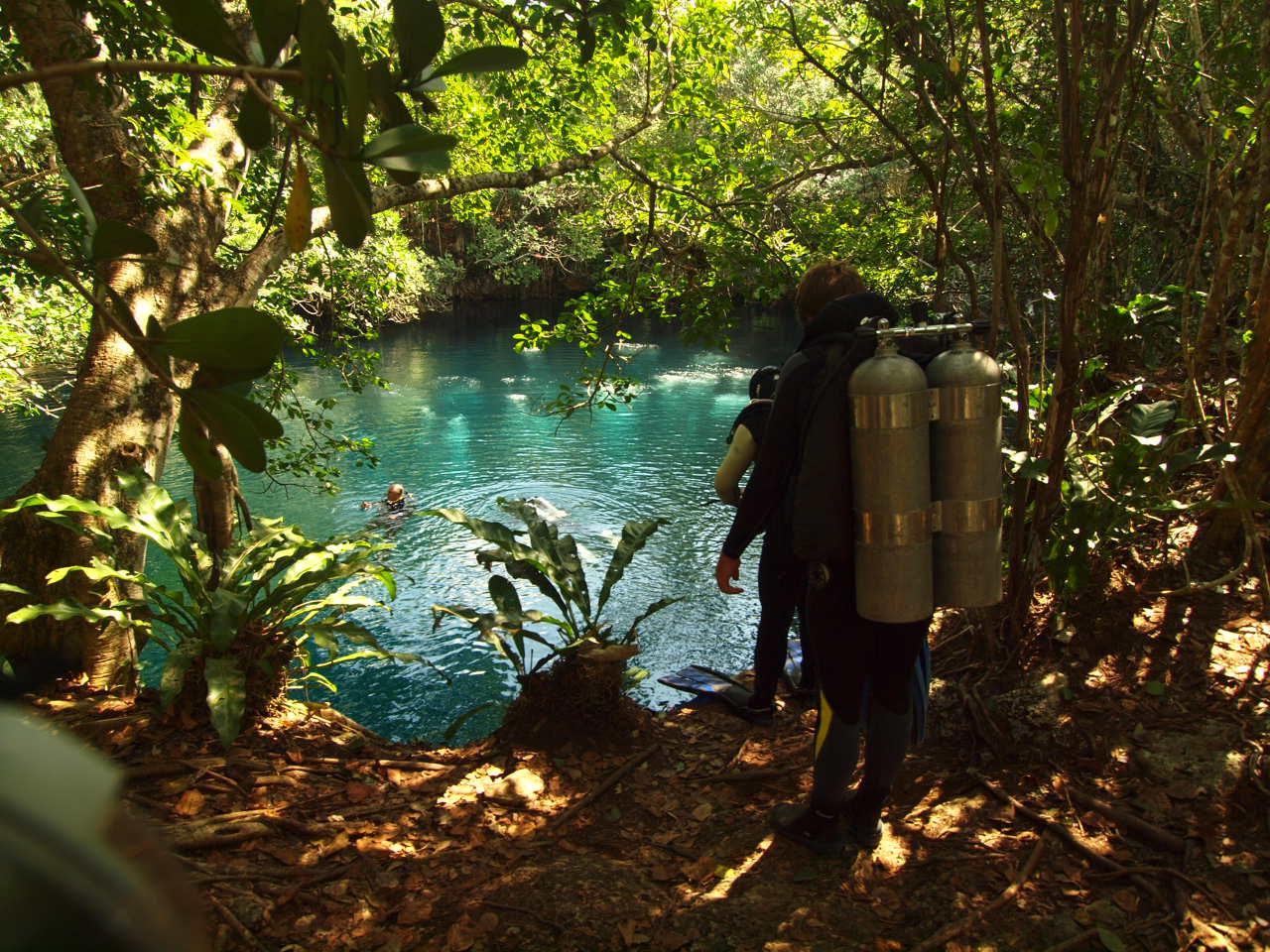 Cenote Angelita Tulúm