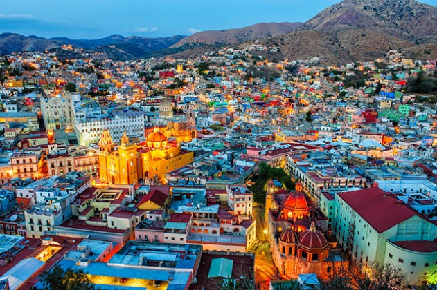 Guanajuato at Night