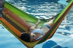 Una manera fresca de descansar.