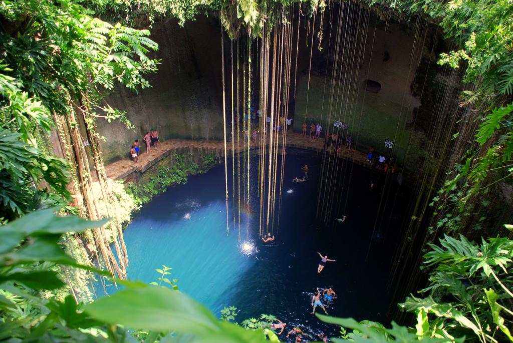 Cenote Ik Kil- Foto de Internet.