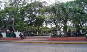 Plaza principal - Foto Lluvia Magaña.