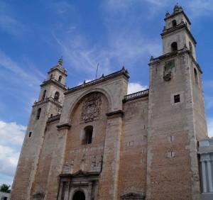 Catedral de Mérida. Foto Lluvia Magaña.
